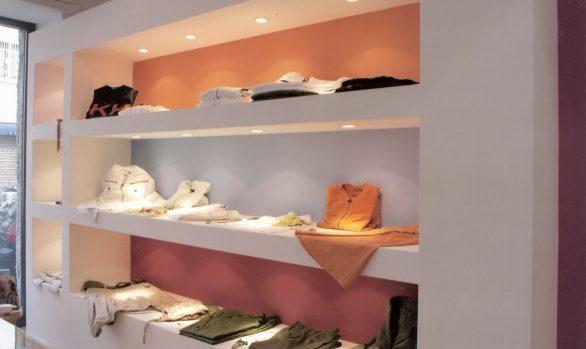 boutique Roma rsitrutturazione