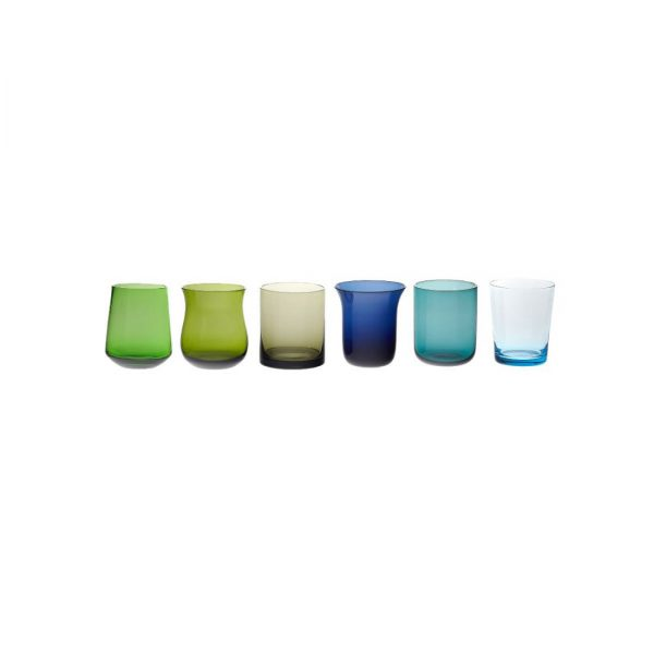 Bicchieri in vetro soffiato Bdesign